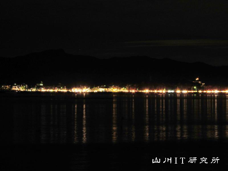 伊勢海老祭り打ち上げ花火を御座港から写真撮影するはずが・・・。その1