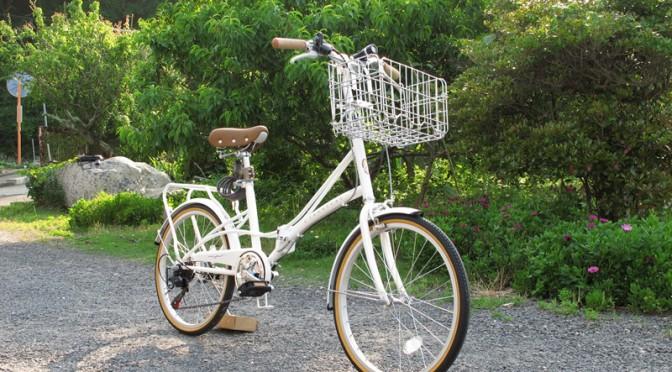 TOPONE 20インチ折りたたみ自転車 FBC206PW への3点セットの取り付け