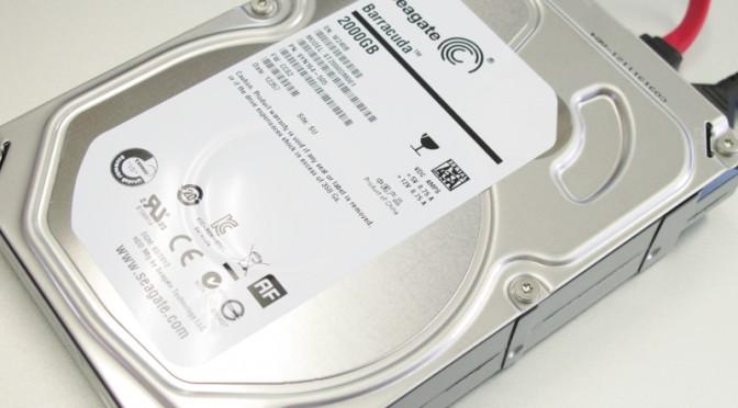 外付けHDDのデータ復旧
